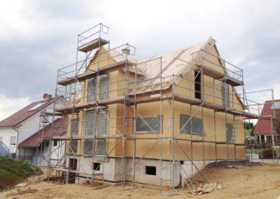 Einfamilienwohnhaus in Holzrahmenbauweise