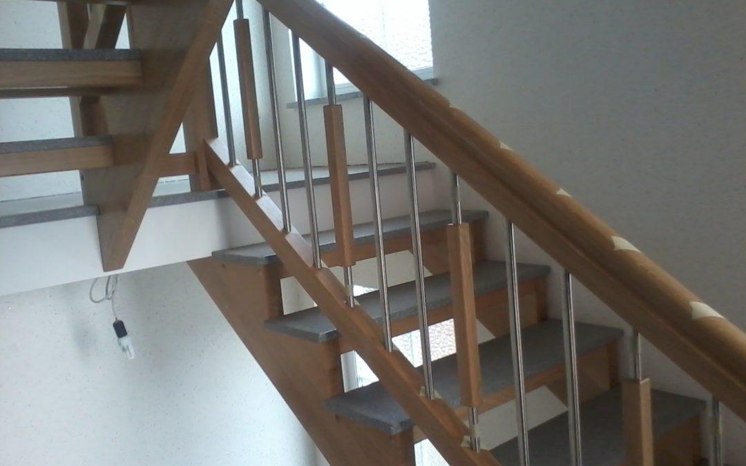 Neubau einer Treppe