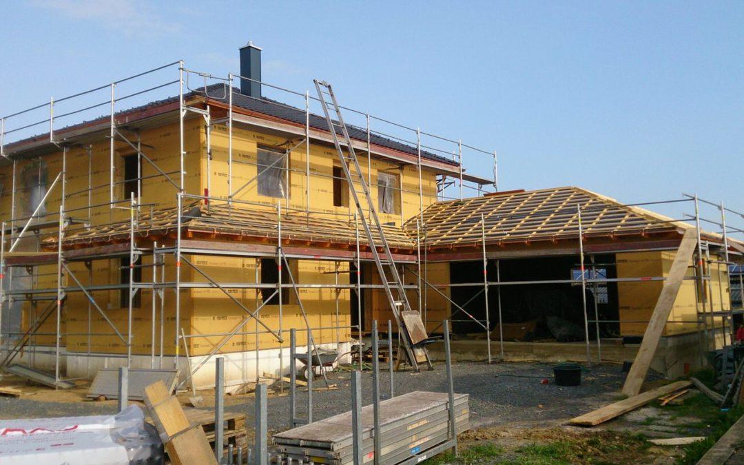 Neubau Einfamilienhaus + Garage
