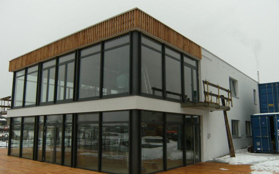 Fassadenbau Seenario