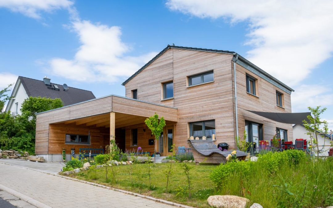 Neubau Einfamilienhaus mit Carport